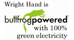wright hand packaging is bullfrog powered